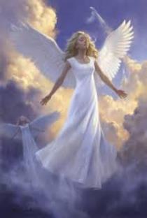 ملاك السماء